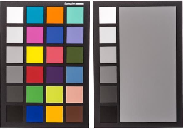 Dvshop Toronto Datacolor Spydercheckr 24 Color Chart Grey Card